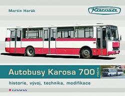Autobusy Karosa 700 obálka knihy