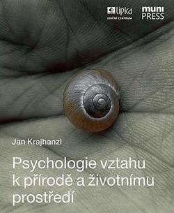 Psychologie vztahu k přírodě a životnímu prostředí obálka knihy