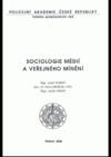 Sociologie médií a veřejného mínění
