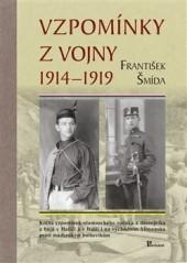 Vzpomínky z vojny 1914 – 1919 obálka knihy