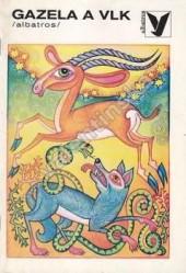 Gazela a vlk