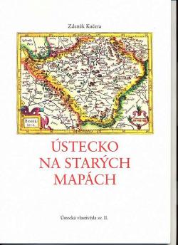 Ústecko na starých mapách obálka knihy