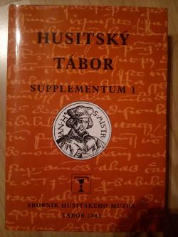 Husitský Tábor Supplementum 1 obálka knihy