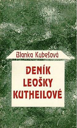 Deník Leošky Kutheilové obálka knihy