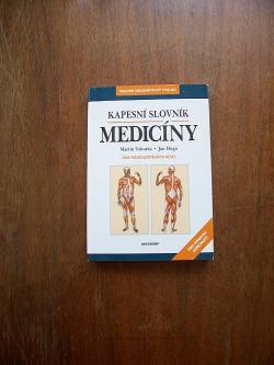 Kapesní slovník medicíny obálka knihy