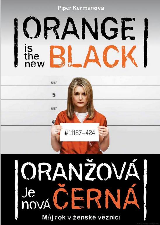 Výsledek obrázku pro oranžová je nová černá kniha