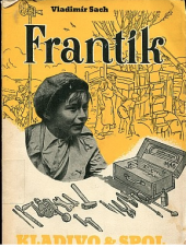 Frantík kladivo a spol. obálka knihy