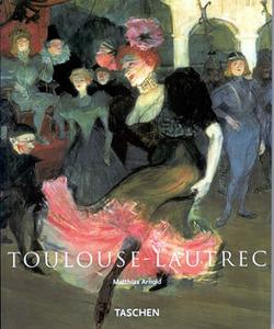 Toulouse-Lautrec obálka knihy
