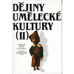 Dějiny umělecké kultury II. obálka knihy