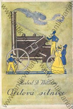Ocelová silnice obálka knihy