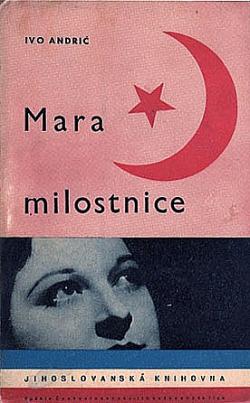 Mara milostnice obálka knihy