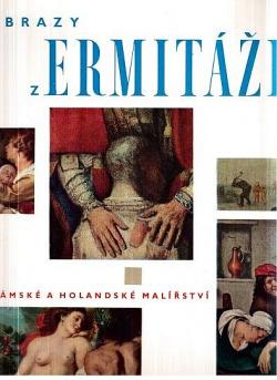 Obrazy z Ermitáže - Flámské a holandské malířství obálka knihy