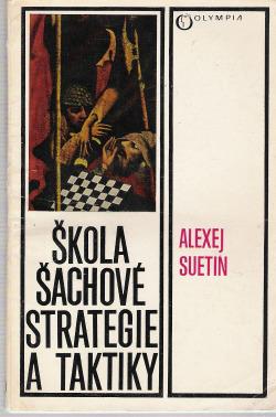Škola šachové strategie a taktiky obálka knihy