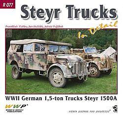 Steyr 1500A in detail obálka knihy