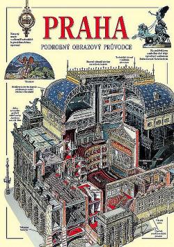Praha - podrobný obrazový průvodce obálka knihy