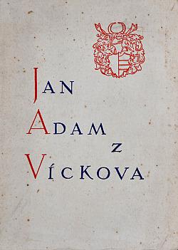 Jan Adam z Víckova obálka knihy