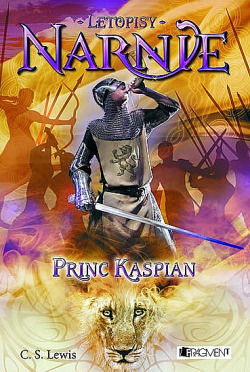 Princ Kaspian obálka knihy