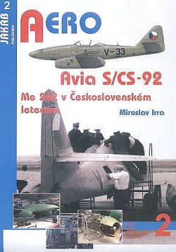 Avia S/CS-92 - Me 262 v Československém letectvu