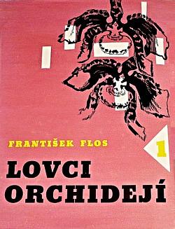 Lovci orchidejí 1 obálka knihy