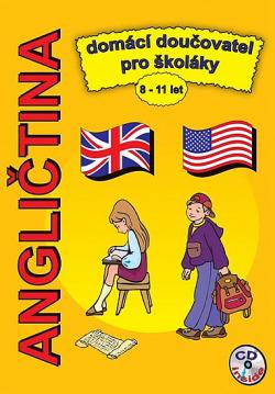 Angličtina domácí doučovatel pro školáky 8-11 let obálka knihy