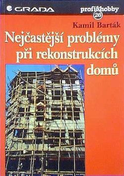 Nejčastější problémy při rekonstrukcích domů obálka knihy