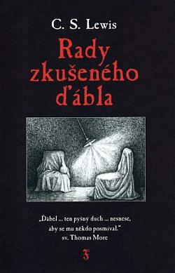 Rady zkušeného ďábla obálka knihy