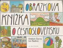 Obrázková knížka o Československu obálka knihy