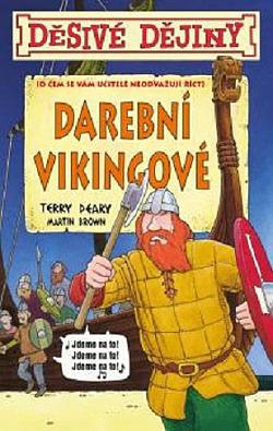 Darební Vikingové obálka knihy
