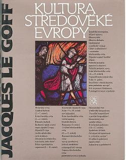 Kultura středověké Evropy obálka knihy