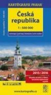 Česká republika - automapa 1 : 500 000