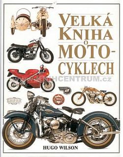 Velká kniha o motocyklech obálka knihy