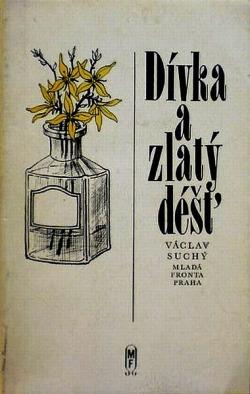 Dívka a zlatý děšť obálka knihy
