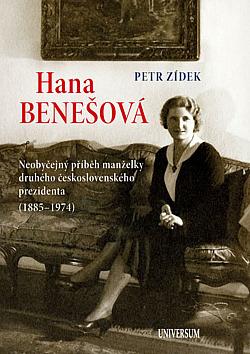 Hana Benešová obálka knihy