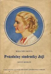 Prázdniny studentky Jáji obálka knihy
