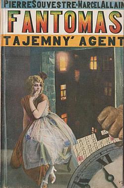 Fantomas: Tajemný agent obálka knihy