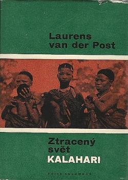 Ztracený svět Kalahari obálka knihy