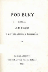 Pod buky obálka knihy