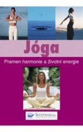 Jóga. Pramen harmonie a životní energie obálka knihy