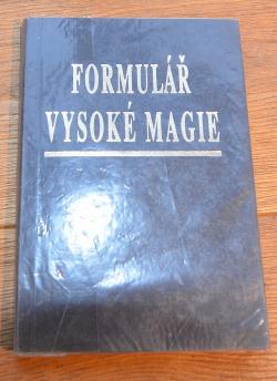 Formulář vysoké magie obálka knihy