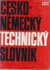 Česko-německý technický slovník