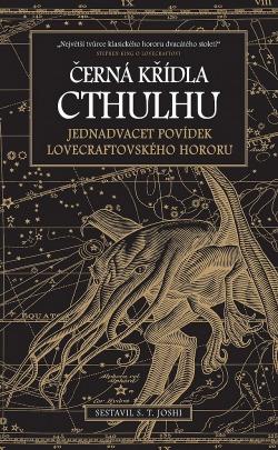 Černá křídla Cthulhu obálka knihy
