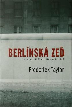 Berlínská zeď obálka knihy