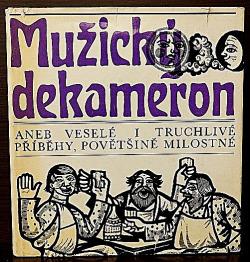 Mužický dekameron obálka knihy