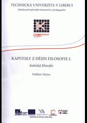 Kapitoly z dějin filosofie I.