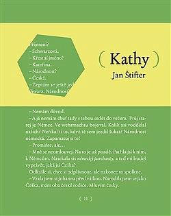 Kathy obálka knihy