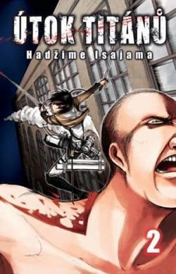 Útok titánů 2 obálka knihy