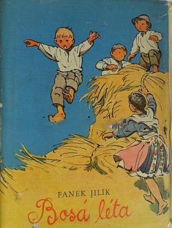 Bosá léta obálka knihy
