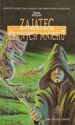 Zajatec černých mnichů obálka knihy