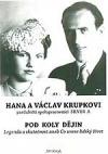 Hana a Václav Krupkovi pod koly dějin obálka knihy