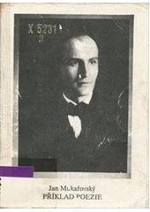 Příklad poezie obálka knihy